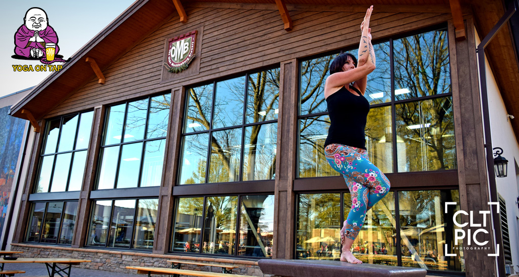 Yoga On Tap March 22 / Empowerment Off the Mat with Sabrina Nixon!