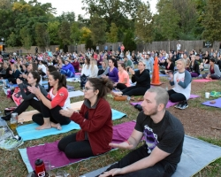 OMB YOGA ON TAP